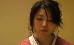Cute Japanese wife with tiny tits has a wet slit needing to
