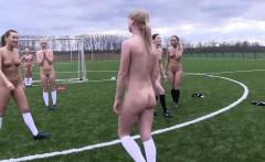 Teens get naked playing football