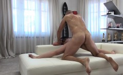 Tiny tits babe Cassie C fucks in the ass by big hard cock