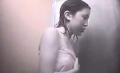 Voyeur Japanese teens changing swimsuit hidden cameras