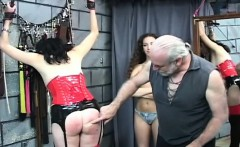 Raw scenes with obedient honeys enduring bondage sex