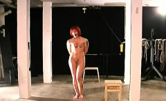 Obedient hottie rough breast bondage xxx bdsm show