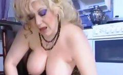 Brutal big tits babe