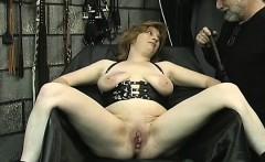 Big boobs babe hard fucked in bizarre slavery xxx scenes