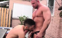 Outdoor bear sex time with Owen Powers and Daxton Ryker