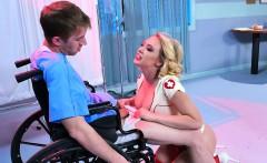 LEROYZ - Kagney Linn Karter Nurse Sexy Uniform Sex