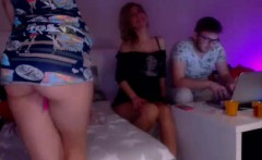 DaneJones Threesome with cute blonde and redhead