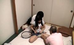 Voyeur of amateur teen sex massage 02