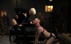 Mistress Helena Face Sitting Sub Dude
