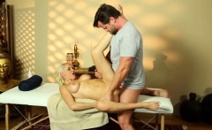 Bigtit MILF gets pounded by masseur