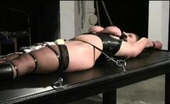 Angel plays along guy's desires in tits torture sex scenes