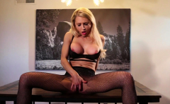 Alix Lynx makes great use of her dining room table