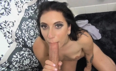 Stepmom suck and rode on stepsons hard cock
