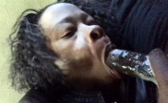 Pretty Ebony Fucked With Big Cock And Facial