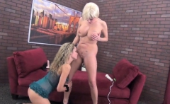 Josyn James and Prinzzess Hot Lesbian Action