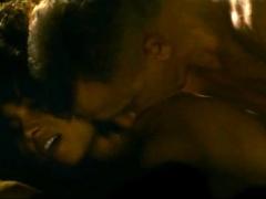 Halle Berry And Rachel Hilson In Sex Scenes