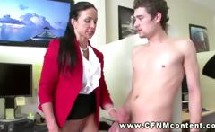 Two office sluts order good fucking from two male colleagues