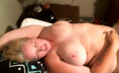 Giant boobs blonde milf get a big dick
