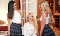 Kali and Emily are desperate to teach Kenzie a lesson