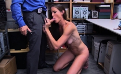 Officer bangs MILF shoplifters pussy
