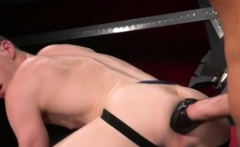 Boy jacking off on ass hole gay Sub fuck-a-thon pig, Axel Ab