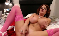 Dirty Talk Master MOM with Huge Natural Tits Squirting