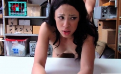Hot Petite Teen Amethyst Banks shoplifting gets her fuck