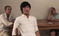 Teen penis gay sex and young twink Landon embarks to jerk hi