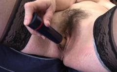 Big ass milf dildo and cumshot