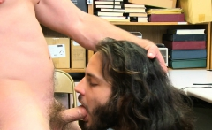 Youngperps - Handsome Guard Fucks Lucky Long-haired Dude