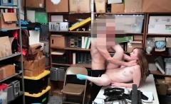 Caught sniffing her panties and big cock cop Suspect was jum