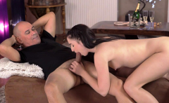OLD4K. Young chick was in mood for sex with middle-aged...