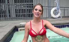 Real MILFs Blonde MILF with big tits gets fucked pov style