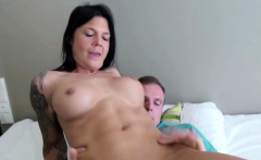 YOUNG BOY CAUGHT STEP MOM MASTURBATE AND HELP WITH FUCK
