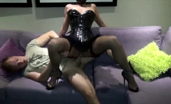 GERMAN LATEX TEEN IN CORSAGE get rough Deepthroat and Anal