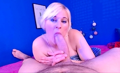 Super Hot BBW Milf on Webcam Teasing