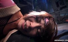 Japanese ninja, Sumire Matsu got fucked uncensored