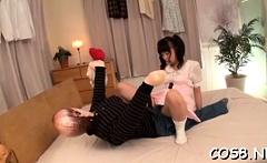 Japan hotty spreads legs for shlong in avid cosplay xxx