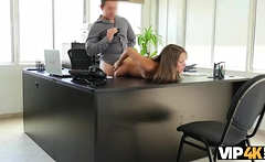 VIP4K. Teen submissively has sex for cash