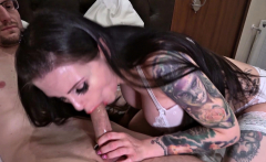 German Huge Tits Lingerie Teen Xania have Sex with old Fan