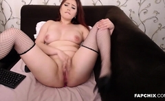 Shaved Pussy Amateur Harlot Makes Herself Pleasure