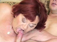 Grannys Old Cunt Licked And Fucked
