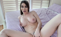 Horny busty MILF stepmom wanted same treatment from him