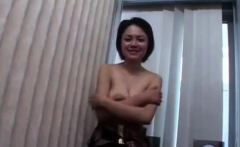 Busty Japanese nipples licked