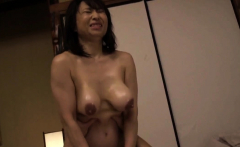 Mature MILF Kozue Tokita and Her Hanging Hooters