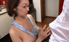 Exquisite busty asian Mio Takahashi fucked by male