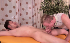 RAWEURO Twink Will Simon Sucked Off And Fucked After Massage