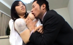 Japanese girl treats her cum-hole with love and care