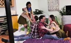 Jada Kai, Kamryn Jayde In Teen Girls Scout Goodies