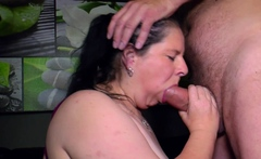 german fat housewife with big boobs at casting